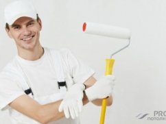 Стоимость покраски потолка