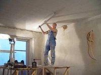 Выравнивание потолка - фото
